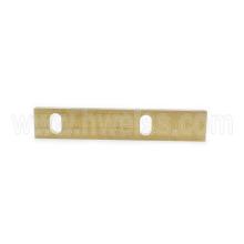 RD-00312 Brass Gib Insert - OLD Style FLAT (RD10/15)